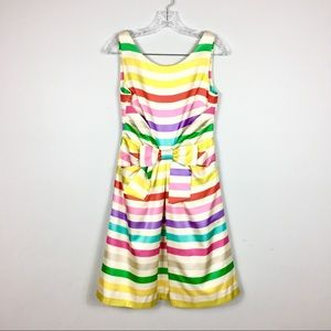 Rare Kate Spade | Jillian MIDI Dress Candy Stripe